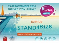 BOMBAS PSH will participate in the next edition of Global Piscine 2016 Lyon